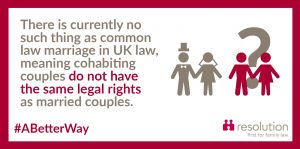 Common law marriage does not exist in UK Law
