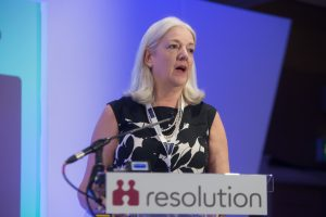 Resolution's Chair gives her speech to the 2019 National Conference