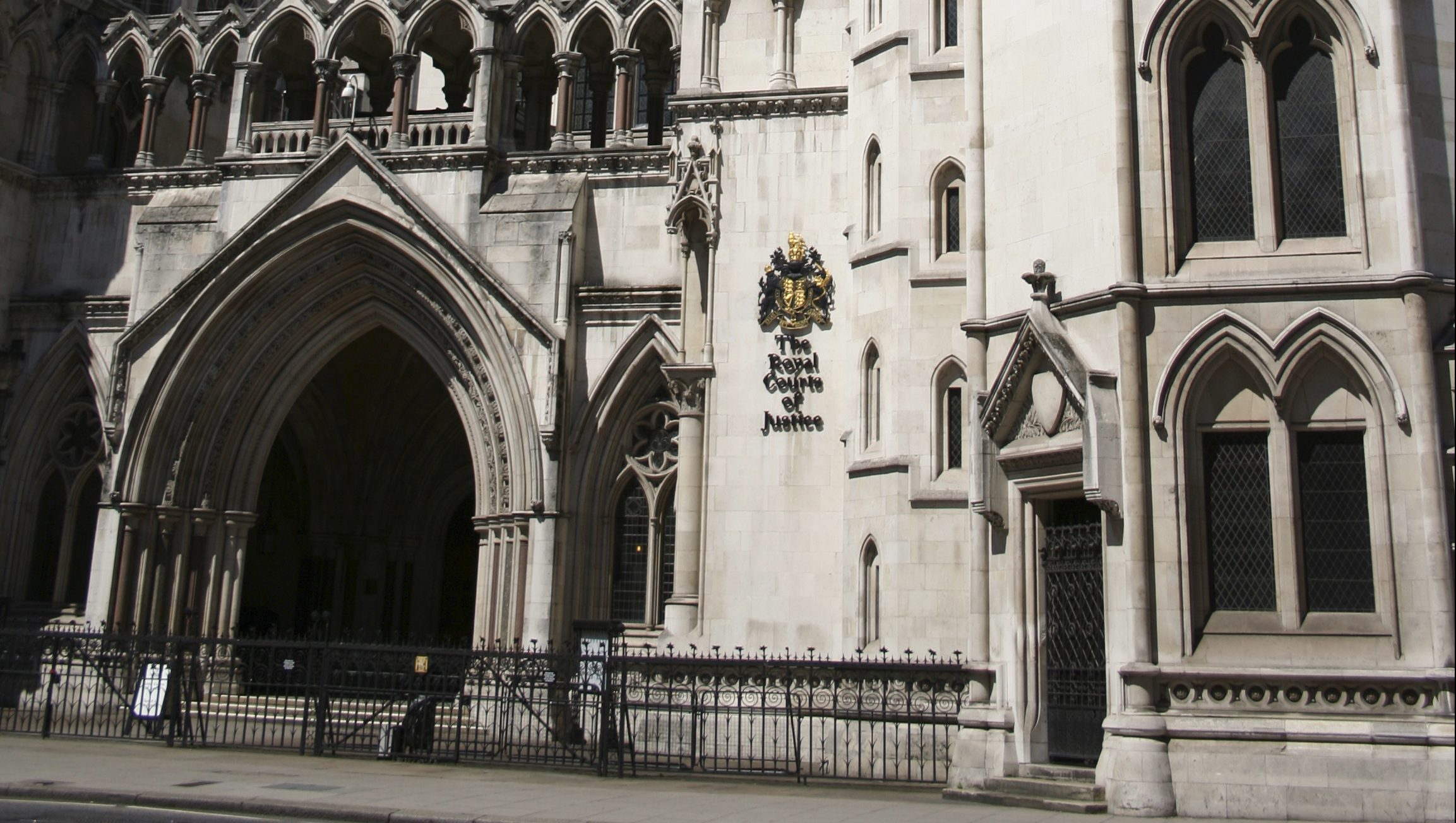 Royal courts of Justice, Strand, London