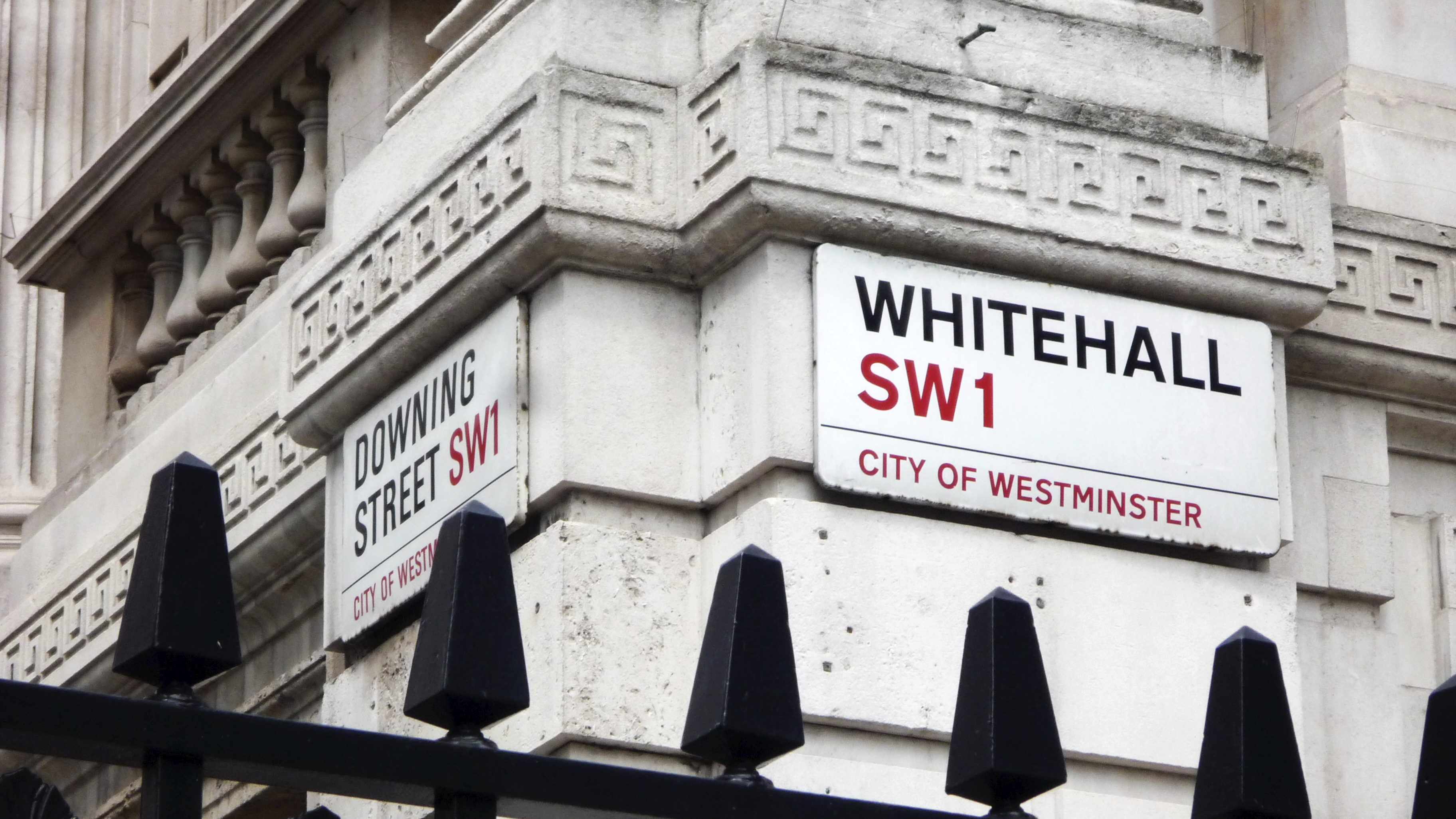 Whitehall and Downing Street