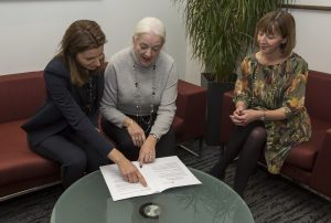 Family Justice Minister Lucy Frazer, National Chair Margaret Heathcote and Family Law Reform Group Chair Jo Edwards discuss Resolution's response to the divorce law reform consultation