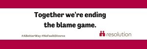 a banner for people to use on twitter to show their support for no fault divorce