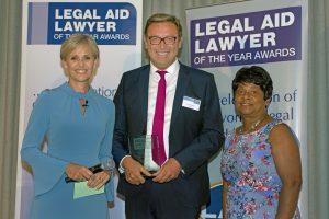 Tony McGovern wins LALY for family law