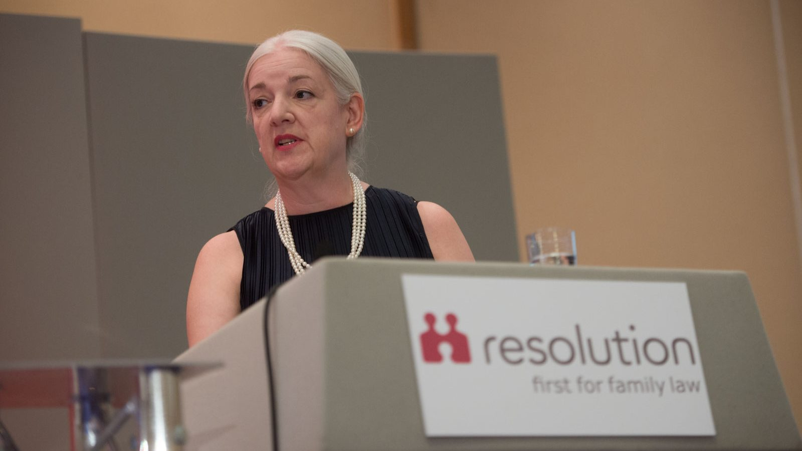 Margaret Heathcote, new Chair of Resolution, at the Resolution Conference 2018