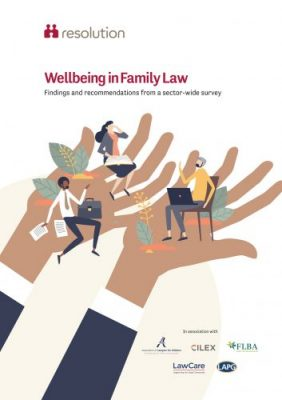 Wellbeing in Family Law report cover