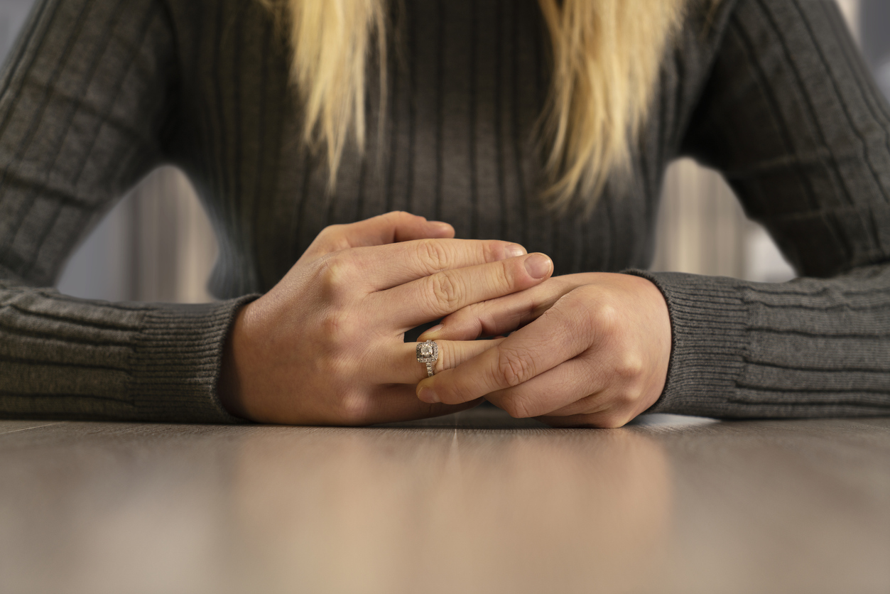 Wedding Ring, Ring - Jewelry, Human Hand, Divorce, Women