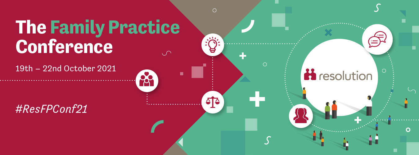 Red and green website banner that reads The Family Practice Conference 19th - 22nd October 2021 #ResFPConf21